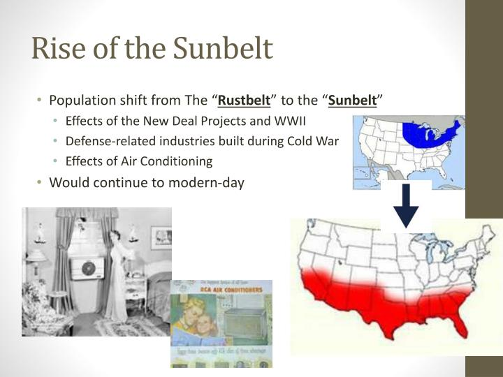 Rise of the Sunbelt
