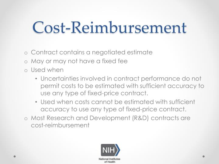 Cost-Reimbursement