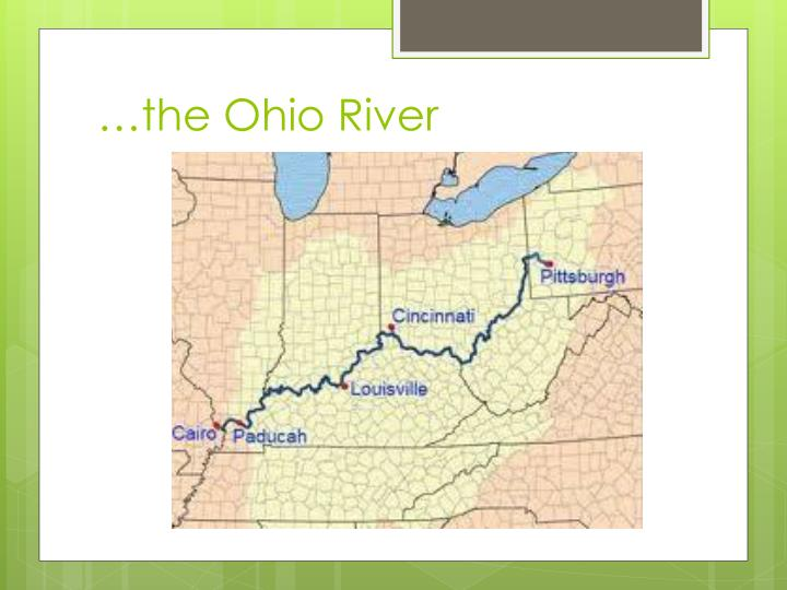 The ohio river