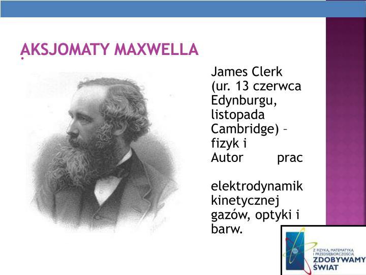 Aksjomaty Maxwella
