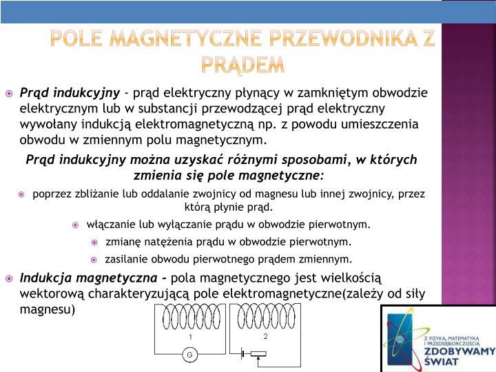 Pole magnetyczne przewodnika z prdem