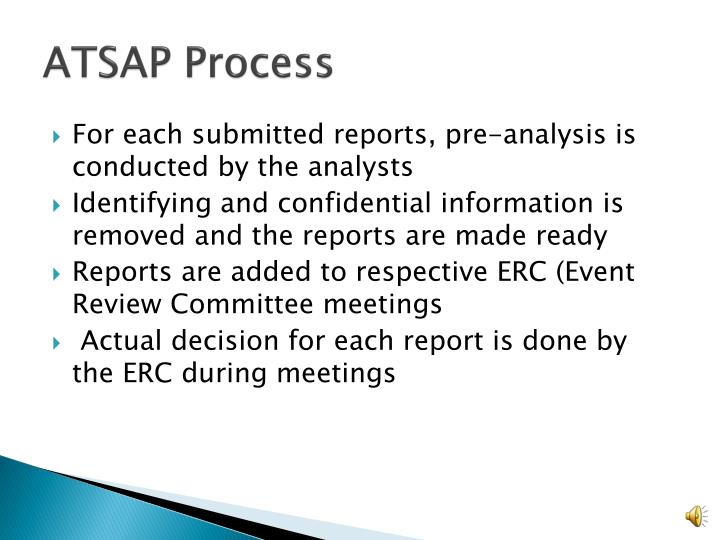 ATSAP Process
