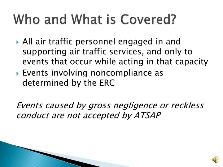 Who and What is Covered?