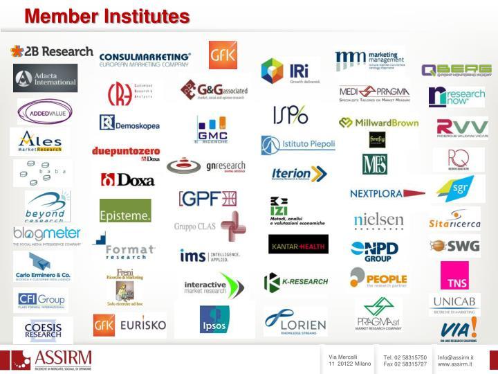 Member Institutes