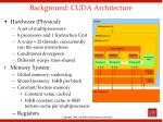 background cuda architecture1