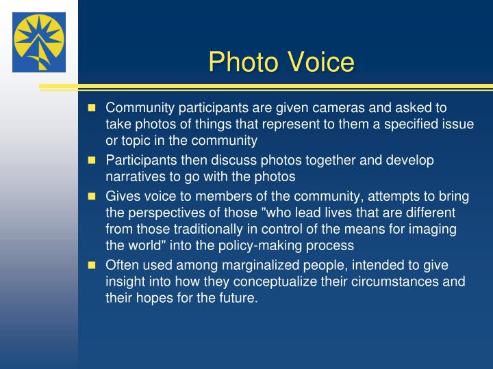 Photo Voice