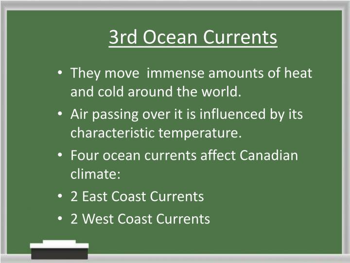 3rd Ocean Currents