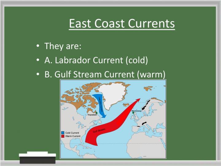 East Coast Currents