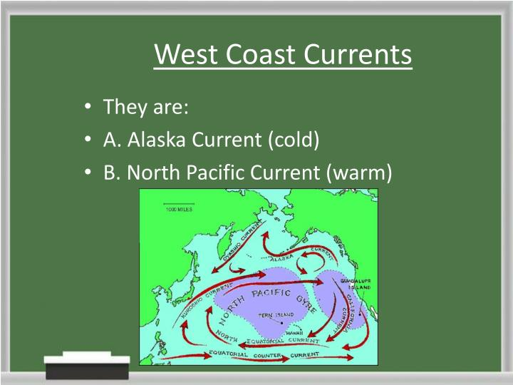 West Coast Currents
