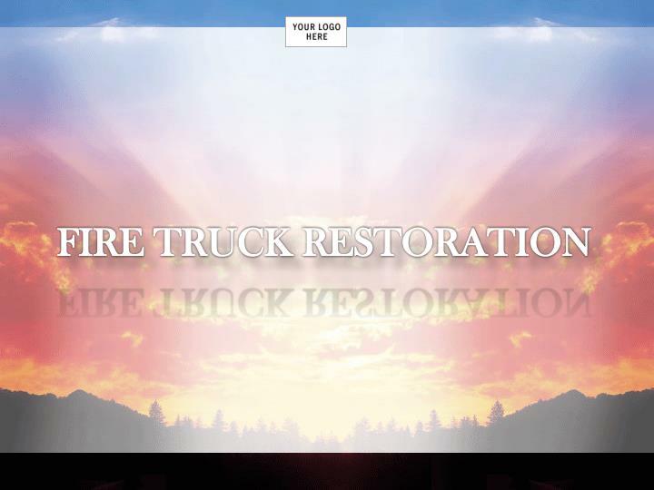 FIRE TRUCK RESTORATION