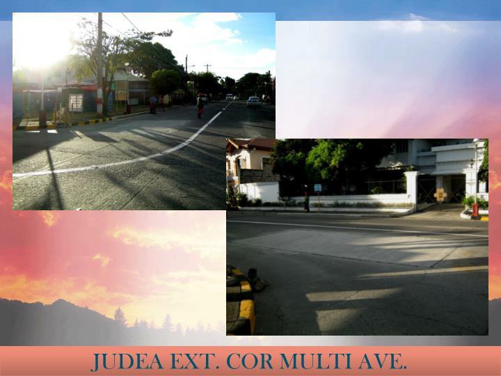 JUDEA EXT. COR MULTI AVE.