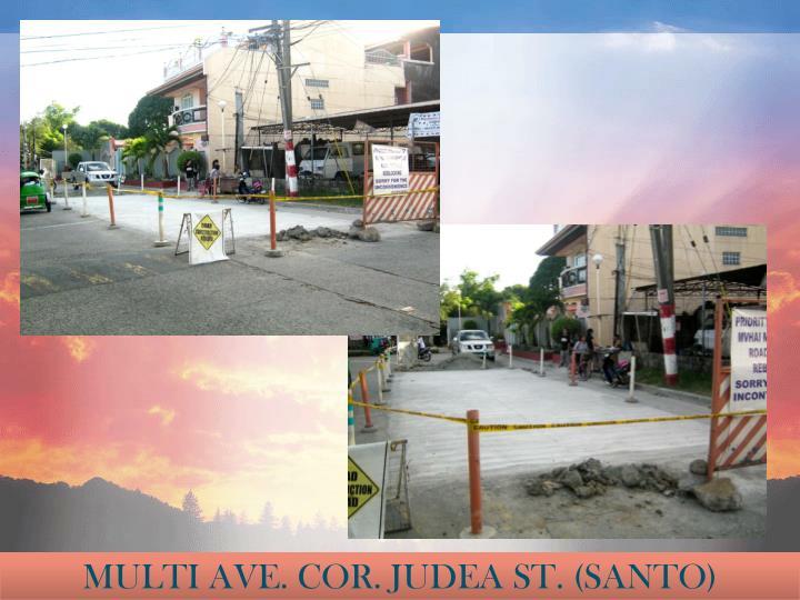 MULTI AVE. COR. JUDEA ST. (SANTO)