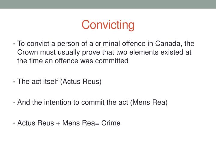 Convicting