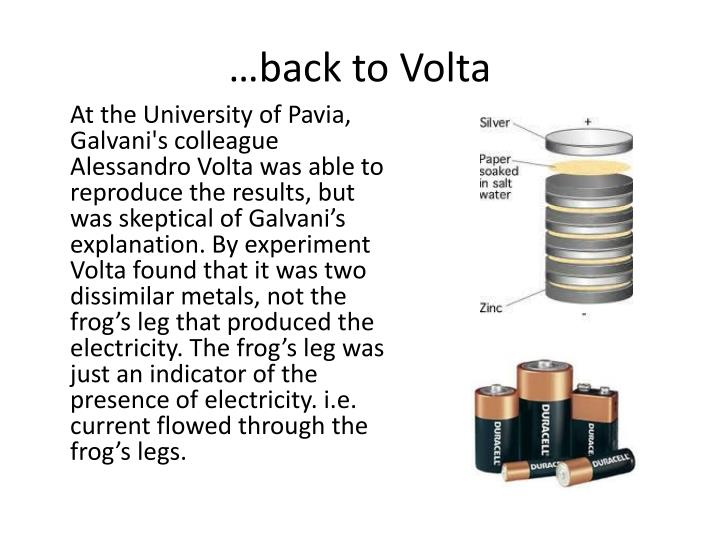…back to Volta