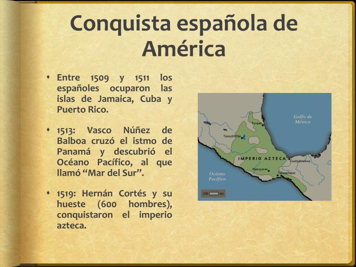 Conquista española de América