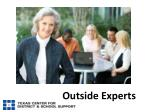 outside experts