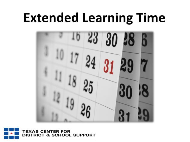 Extended Learning Time