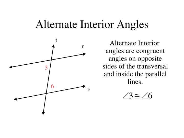 Ppt Angles Formed By Transversal And Parallel Lines March 9 2011 Powerpoint Presentation Id