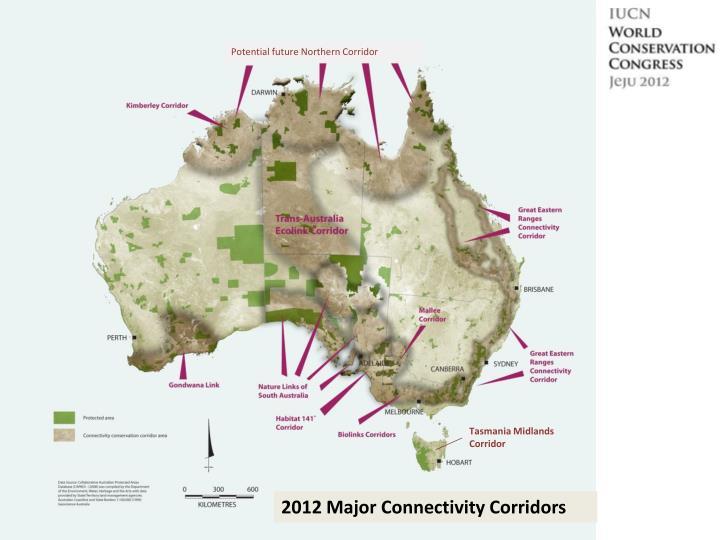 Potential future Northern Corridor