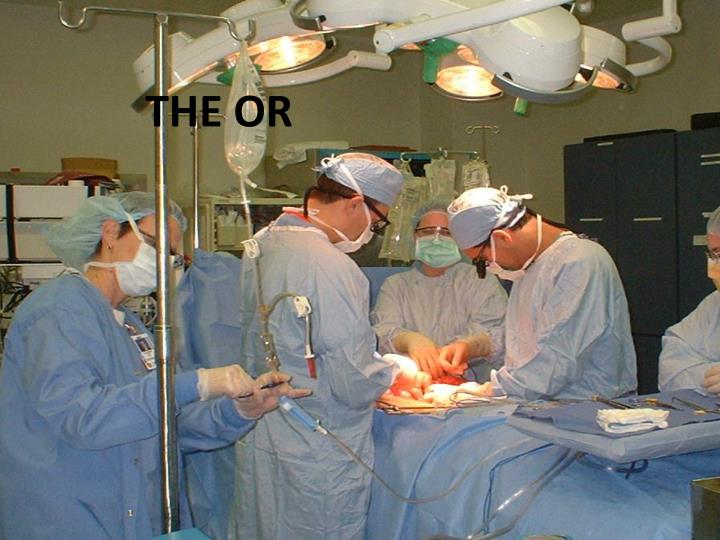 THE OR