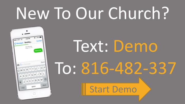 New To Our Church?