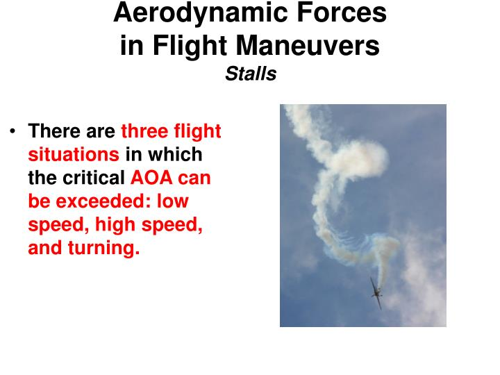 Aerodynamic Forces