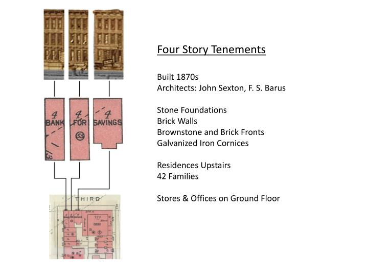 Four Story Tenements