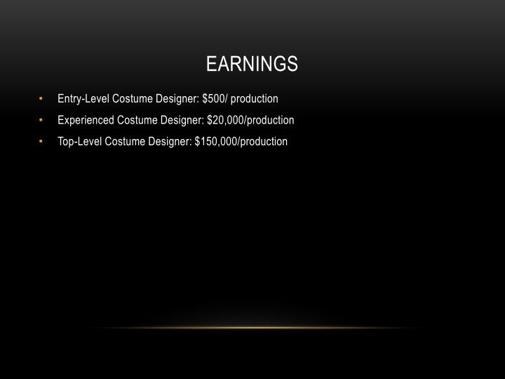 earnings