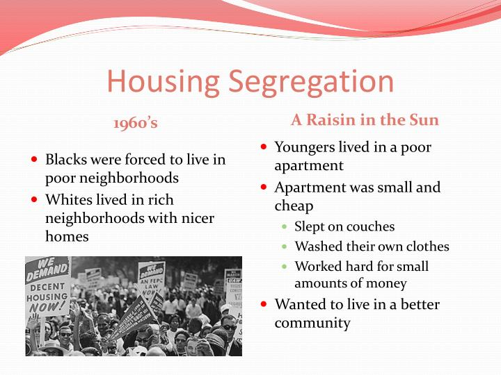 Housing segregation