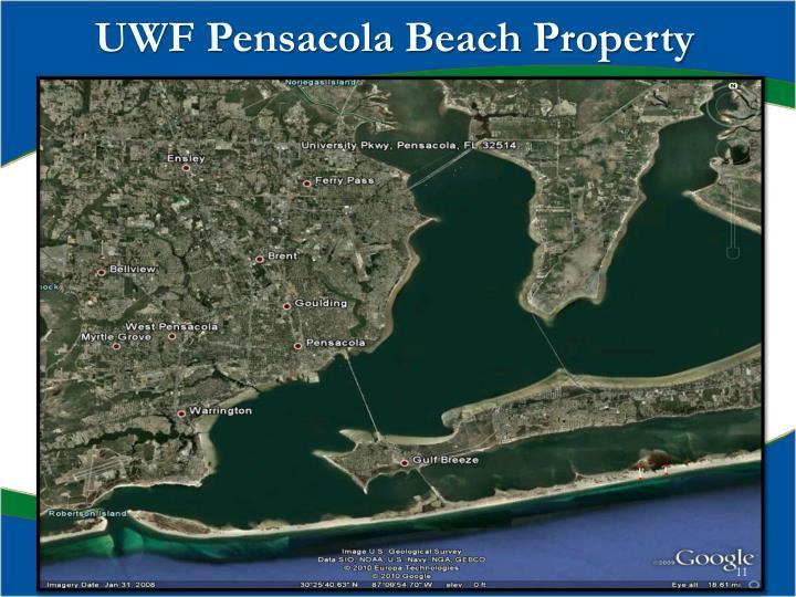 UWF Pensacola Beach Property
