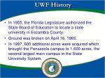 uwf history