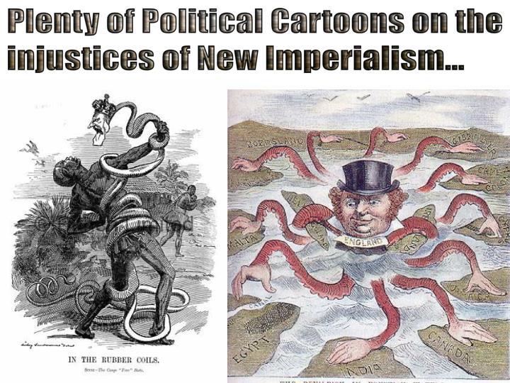 Plenty of Political Cartoons on the