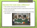 how does fair trade make a difference