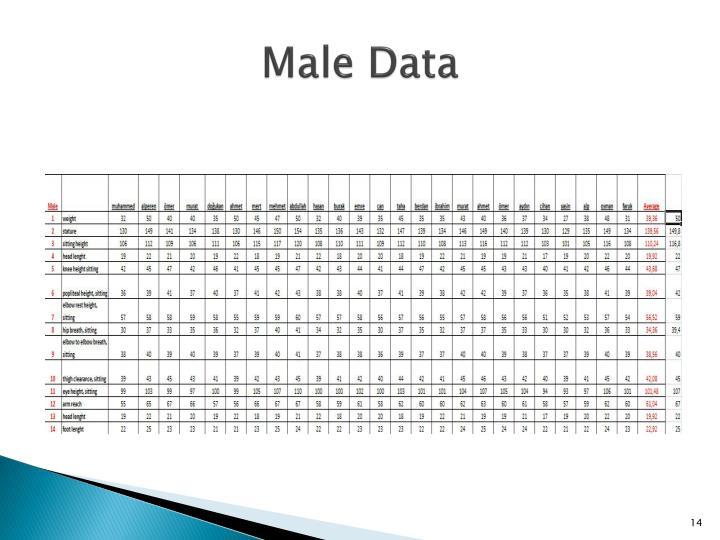 Male Data