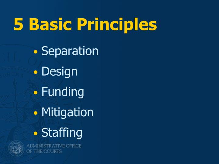 5 Basic Principles