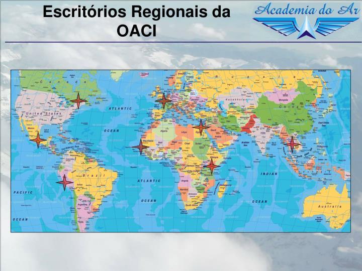 Escritórios Regionais da OACI