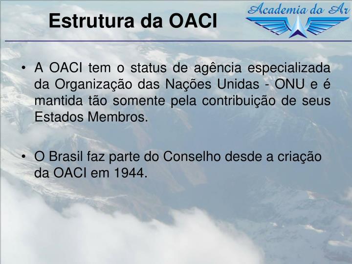 Estrutura da OACI