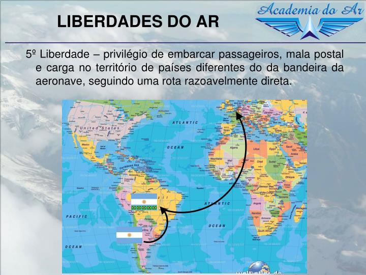 LIBERDADES DO AR