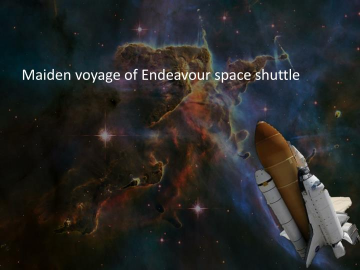space shuttle voyager - photo #25