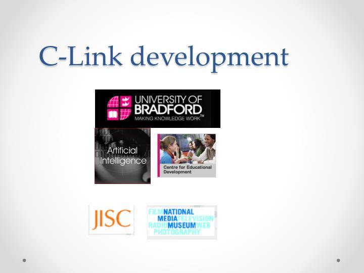 C-Link development
