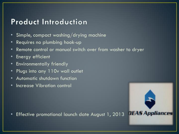 Product introduction