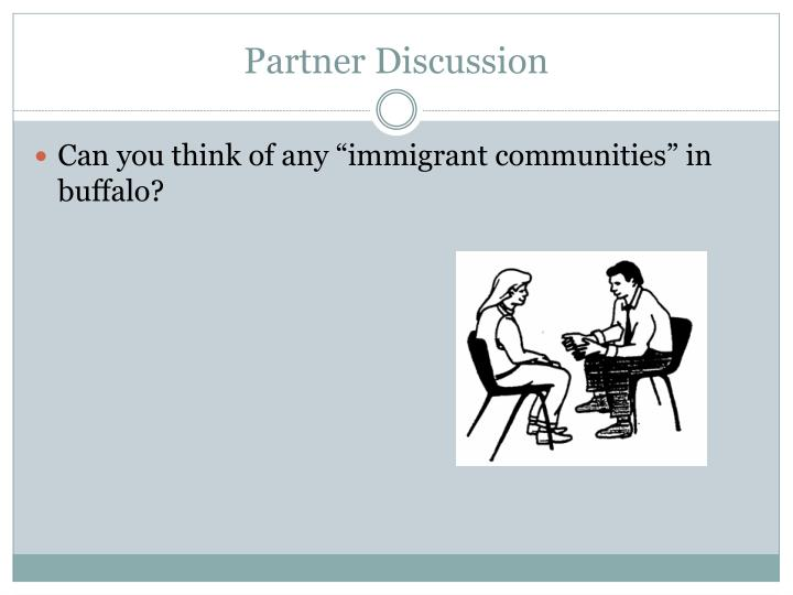 Partner Discussion