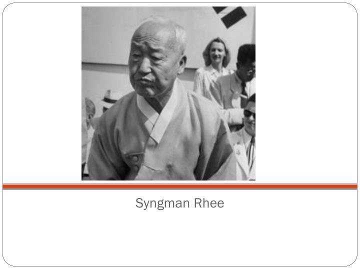 Syngman