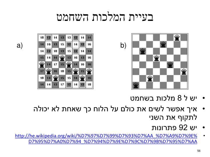 בעיית המלכות השחמט