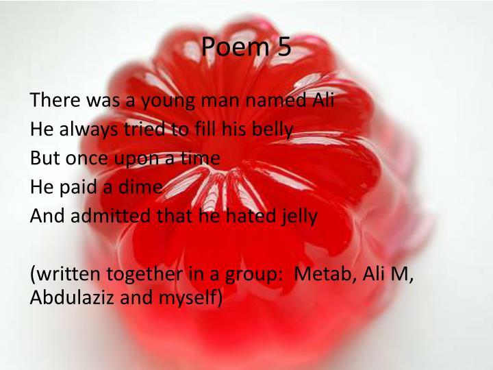 Poem 5