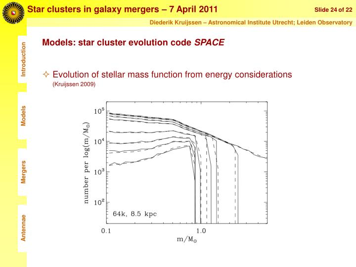 Star clusters in galaxy mergers – 7 April 2011