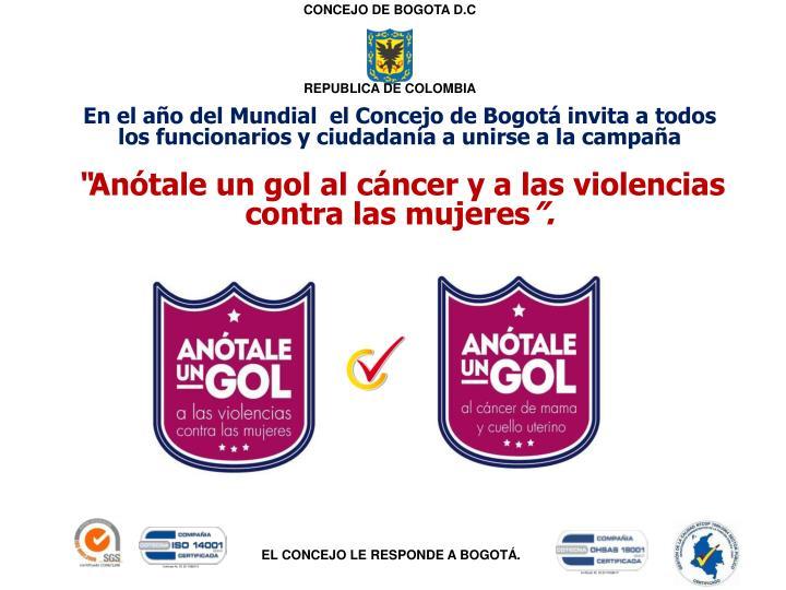CONCEJO DE BOGOTA D.C
