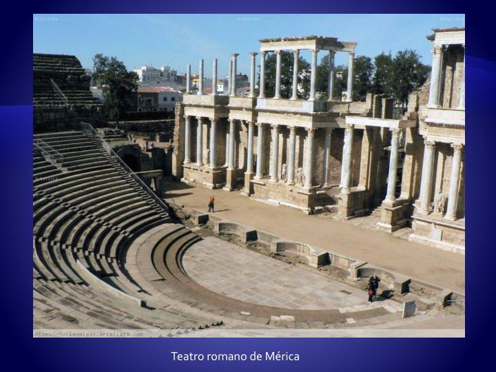 Teatro romano de