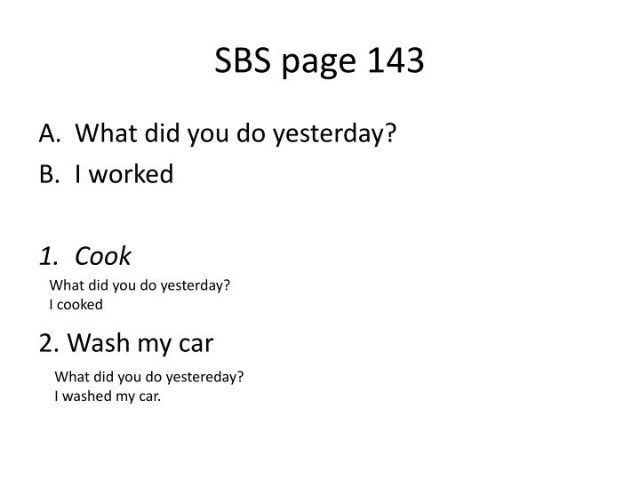 SBS page 143