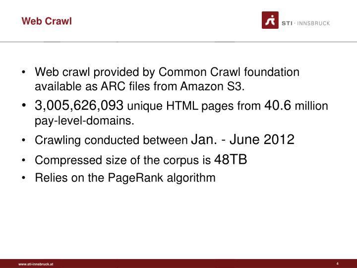 Web Crawl
